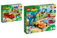 LEGO® DUPLO® 2er Set: 10874 Dampfeisenbahn +...