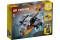 LEGO® 31111 Creator 3-in-1 Cyber-Drohne - Cyber-Mech - Hoverbike, Set mit Roboter-Minifigur, Weltraum-Spielzeug aus Bausteinen für Kinder ab 6 Jahre