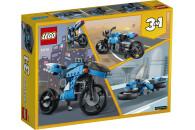 LEGO® 31114 Creator 3-In-1 Geländemotorrad aus Bausteinen, klassisches Motorrad Spielzeug mit Hoverbike, für Kinder ab 8 Jahre