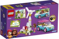 LEGO® 41443 Friends Olivias Elektroauto Set, Spielzeug ab 6 Jahren mit Mini Puppen Olivia & Mia und Spielzeugauto, Lernspielzeug
