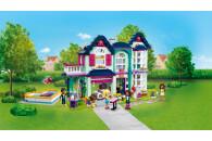 LEGO® 41449 Friends Andreas Haus Set, Puppenhaus für Mini Puppen mit Schwimmbad und Musikstudio, Spielzeug ab 6 Jahren