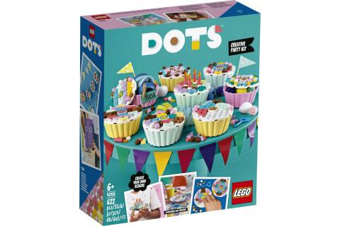 LEGO® 41926 DOTS Cupcake Partyset mit 8 Cupcakes, Geburtstagsgeschenk für Kinder, Bastelset, Kreativset