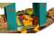 LEGO® 43185 Disney Princess Bouns Boot Spielzeug mit 2 Mini Puppen aus dem Film Raya und der letzte Drache, Kinderspielzeug ab 6 Jahren