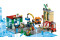 LEGO® 60292 City Stadtzentrum Bauset mit Spielzeug-Motorbike, Fahrrad, Truck, Straßenplatten und 8 Minifiguren