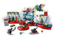 LEGO® 76175 Marvel Angriff auf Spider-Mans Versteck Bauset mit Green Goblin und Venom Figuren, Superhelden Spielzeug