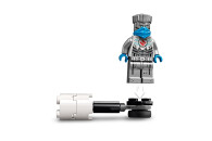 LEGO® 71731 NINJAGO Battle Set: Zane vs. Nindroid Roboter Krieger mit Actionkreisel
