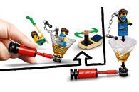 LEGO® 71735 NINJAGO Turnier der Elemente Tempel Bauset mit Kampfarena und sammelbarer Figur des Goldenen Ninja Lloyd