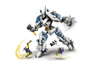 LEGO® 71738 NINJAGO Legacy Zanes Titan-Mech Ninja Bauset mit Jay als goldene Figur und 2 Geisterkämpfern