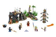 LEGO® 71747 NINJAGO Das Dorf der Wächter Bauset, mit Ninja Cole, Jay und Kai Minifiguren, Spielzeug ab 8 Jahren