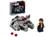 LEGO® 75295 Star Wars Millennium Falcon Microfighter Spielzeug mit Han Solo Minifigur für 6-jährige Jungen und Mädchen