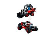 LEGO® 42116 Technic Kompaktlader, Bagger - Hot Rod, 2-in-1 Set, Kinderspielzeug, Baufahrzeug, Spielzeugauto, Geschenk für Kinder ab 7 Jahre
