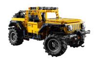 LEGO® 42122 Technic Jeep Wrangler 4x4 Spielzeugauto, Geländewagen, SUV Modell Bauset für Kinder und Erwachsene