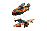 LEGO® 42120 Technic Luftkissenboot für Rettungseinsätze - Flugzeug, 2-in-1 Spielzeug aus Bausteinen, Geschenk für Mädchen und Jungen ab 8 Jahren