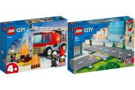 LEGO® City 2er Set: Fire 60280 Feuerwehrauto + Town...