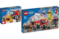 LEGO® City Fire 2er Set: 60280 Feuerwehrauto + 60282...