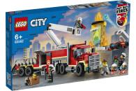 LEGO® City Fire 2er Set: 60280 Feuerwehrauto + 60282 Mobile Feuerwehreinsatzzentrale