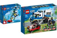 LEGO® City Police 2er Set: 60275 Polizeihubschrauber...