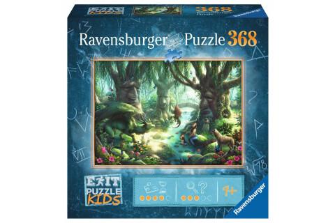 Ravensburger EXIT 12955 Kids Puzzle: Der magische Wald - 368 Teile, ab 9 Jahren