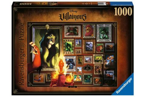 Ravensburger 1000 Teile Puzzle: Villainous: Scar