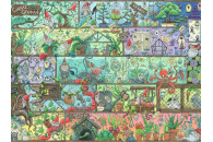 Ravensburger 1500 Teile Puzzle: Zwerge im Regal