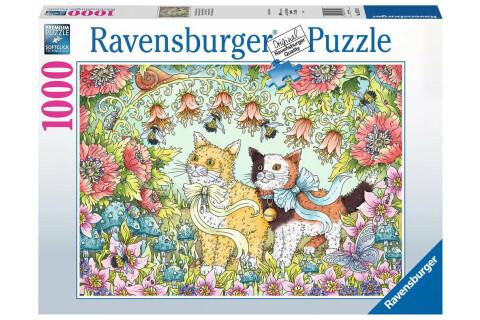 Ravensburger 1000 Teile Puzzle: Kätzchenfreundschaft