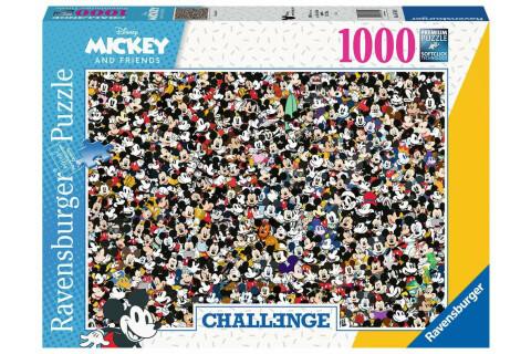 Ravensburger 1000 Teile Puzzle: Challenge Mickey