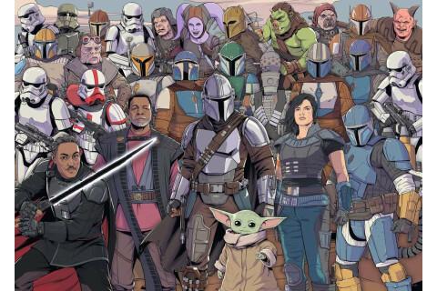 Ravensburger 1000 Teile Puzzle: Star Wars: Challenge Baby Yoda