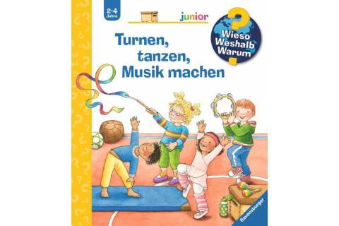WWW Junior Turnen, tanzen, Musik machen