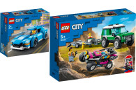 LEGO® City Great Vehicles 2er Set: 60285 Sportwagen +...