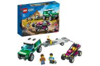 LEGO® City Great Vehicles 2er Set: 60285 Sportwagen + 60288 Rennbuggy-Transporter