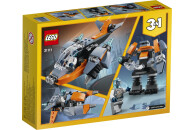 LEGO® Creator 2er Set: 31111 Cyber-Drohne + 31114 Geländemotorrad