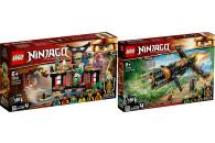 LEGO® NINJAGO® 2er Set: 71735 Turnier der...