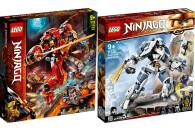 LEGO® NINJAGO® 2er Set: 71720 Feuer-Stein-Mech +...