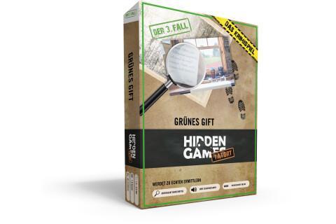Krimi-Spielebox: Hidden Games Tatort Grünes Gift (Fall 3)