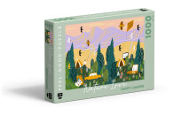 Feel-good-Puzzle 1000 Teile Nature Love Happy Camper