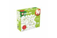 Hubelino 60-teiliges weißes Bausteine Set -...