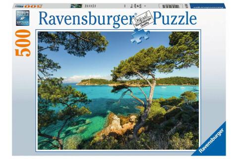 Ravensburger 500 Teile Puzzle Schöne Aussicht
