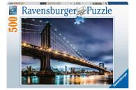 Ravensburger 500 Teile Puzzle New York - die Stadt, die...