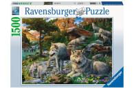Ravensburger 1500 Teile Puzzle Wolfsrudel im...