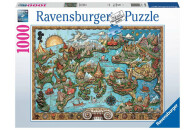 Ravensburger 1000 Teile Puzzle Geheimnisvolles Atlantis