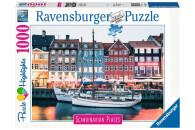 Ravensburger 1000 Teile Puzzle Kopenhagen Dänemark