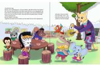 SAMi Buch Neue Freunde im Dschungel-Kindergarten