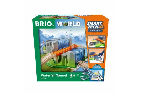 BRIO Smart Tech Sound Wasserfall-Tunnel