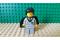 LEGO® Figur Harry Potter im Gryffindor-Anzug mit Sternenumhang