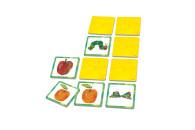 Schmidt Spiele 40455 Die kleine Raupe Nimmersatt, Memo