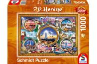 Schmidt Spiele 1000 Teile Puzzle: 59902 Leuchttürme
