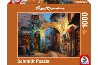 Schmidt Spiele 1000 Teile Puzzle: 59313 Gässchen am...