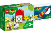 LEGO® DUPLO® 2er Set: Town 10949 Tierpflege auf...
