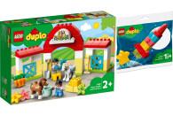 LEGO® DUPLO® 2er Set: Town 10951 Pferdestall und...
