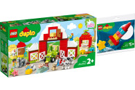 LEGO® DUPLO® 2er Set: Town 10952 Scheune, Traktor...
